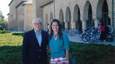 Claudia Hammond with Albert Bandura