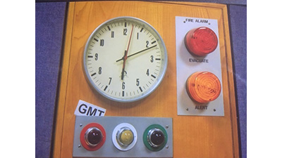 Radio studio clocks