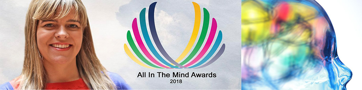 All In The Mind awards poster.