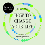 Logo for How to Change your Life festival
