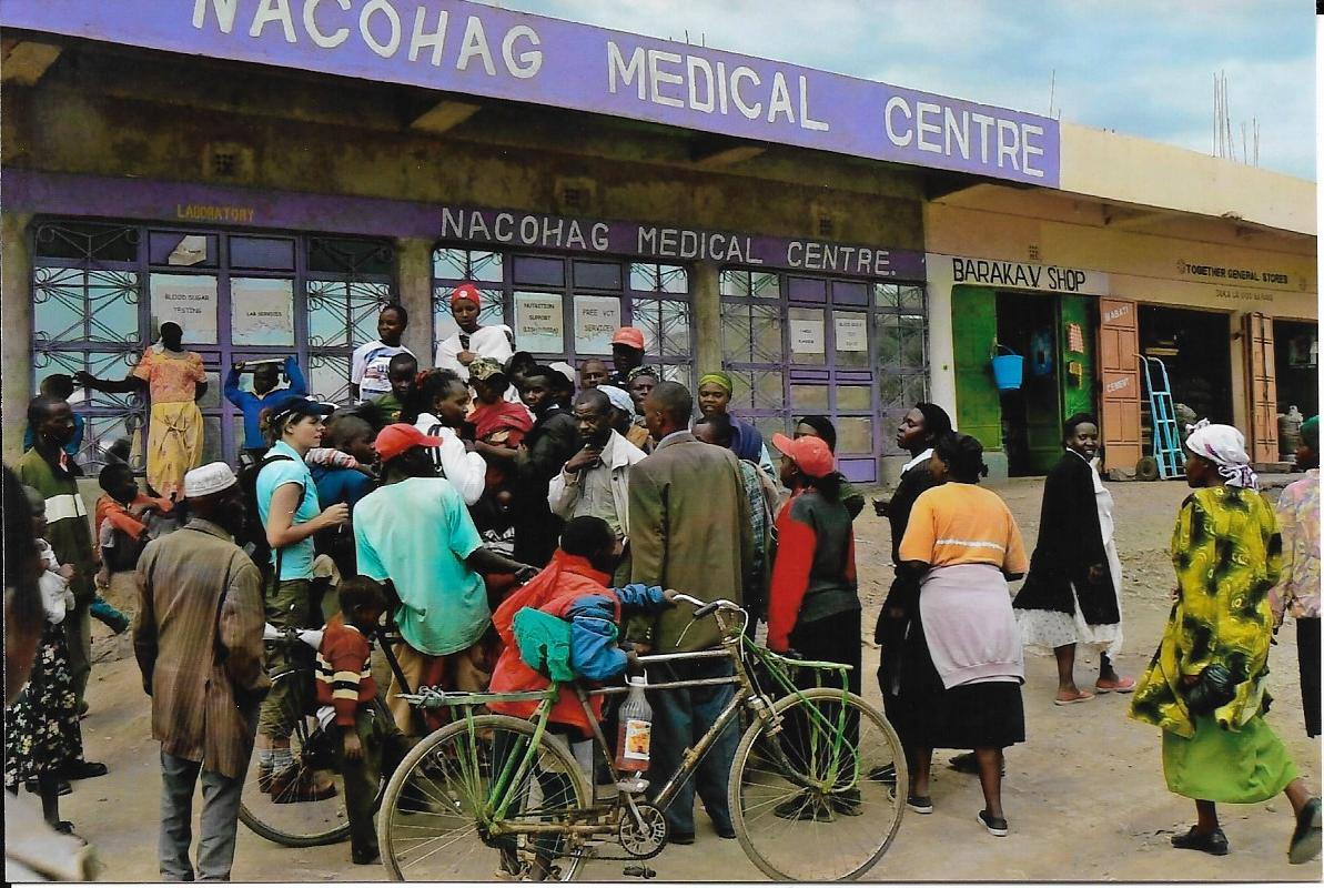 A clinic in Kenya
