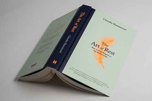The cover of The Art of Rest by Claudia Hammond