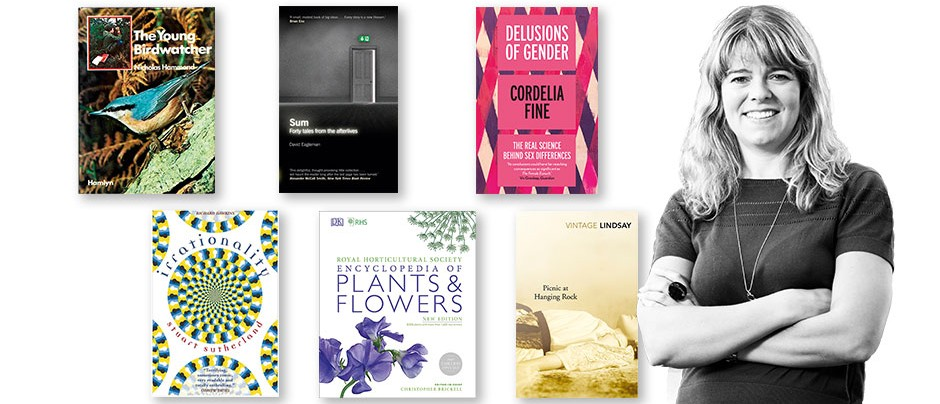 A montage of Claudia's favourite books